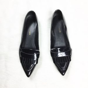 Marc Fisher Black Patent Leather Loafers sz. 7